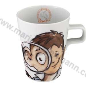 Boy with Magnifying Glass Mug